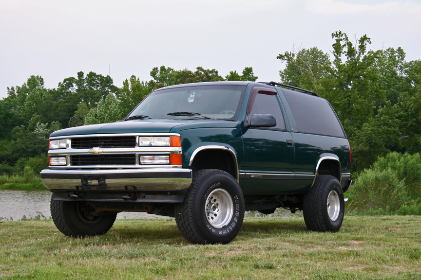 fs 1995 chevrolet tahoe 2 door 5 speed for sale wanted gm. Black Bedroom Furniture Sets. Home Design Ideas
